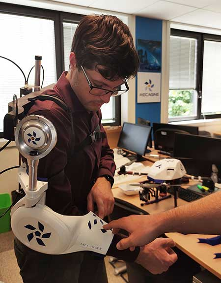 Bras robotisé prototype