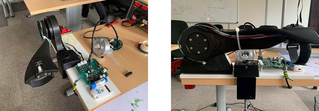 Exosquelette mécanique prototype 2021